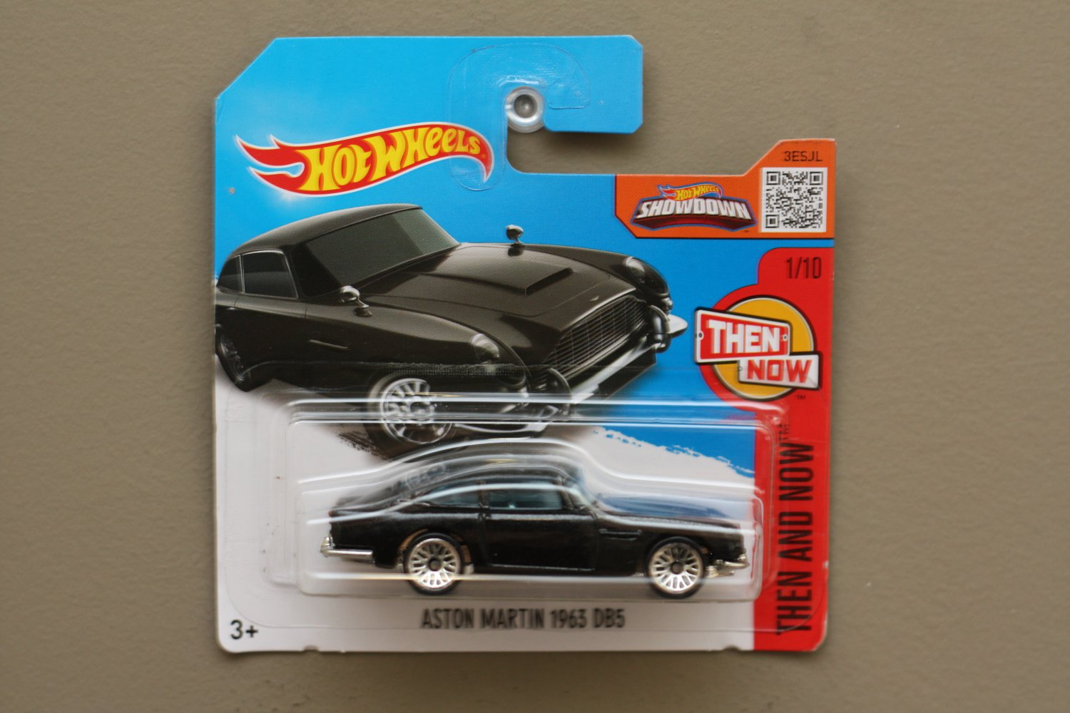 Hot Wheels 2016 Then And Now 63 Aston Martin Db5 Black