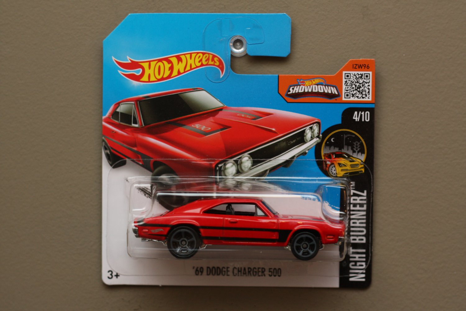 Fisher Auto Sales >> Hot Wheels 2016 Nightburnerz '69 Dodge Charger 500 (red)