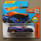 Hot Wheels 2016 HW Digital Circuit 2005 Ford Mustang (blue) (SEE CONDITION)