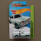 Hot Wheels 2015 HW Workshop '78 Dodge Li'l Red Express Pickup Truck (white) (SEE CONDITION)