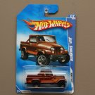 Hot Wheels 2009 Heat Fleet Jeep Scrambler (brown)