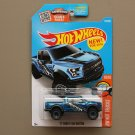 Hot Wheels 2016 HW Hot Trucks '17 Ford F-150 Raptor (blue)