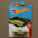 Hot Wheels 2016 Then And Now '71 Dodge Challenger (green - Kmart Excl.)