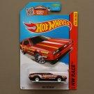 Hot Wheels 2015 HW Race DMC Delorean (spectraflame red) (Super Treasure Hunt)
