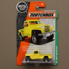Matchbox 2016 MBX Explorers Jeep Willys 4x4 (yellow)