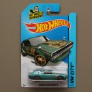 [ASSEMBLY ERROR] Hot Wheels 2014 HW City Nissan Skyline 2000GT-R (teal)
