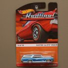Hot Wheels 2015 Heritage Redline Custom '66 Pontiac GTO Wagon