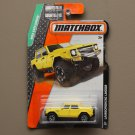 Matchbox 2015 MBX Explorers Lamborghini LM002 (yellow) (SEE CONDITION)