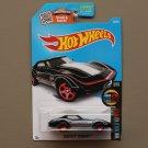 Hot Wheels 2016 HW Mild To Wild Corvette Stingray (black)