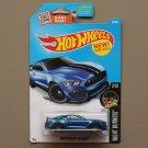 Hot Wheels 2016 Nightburnerz Ford Shelby GT 350R (blue)