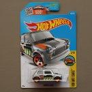 Hot Wheels 2016 HW Art Cars Morris Mini Cooper (ZAMAC silver - Walmart Excl.)