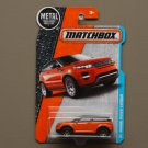 Matchbox 2016 MBX Adventure City Land Rover Range Rover Evoque (orange)