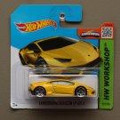 Hot Wheels 2015 HW Workshop Lamborghini Huracan LP 610-4 (yellow)