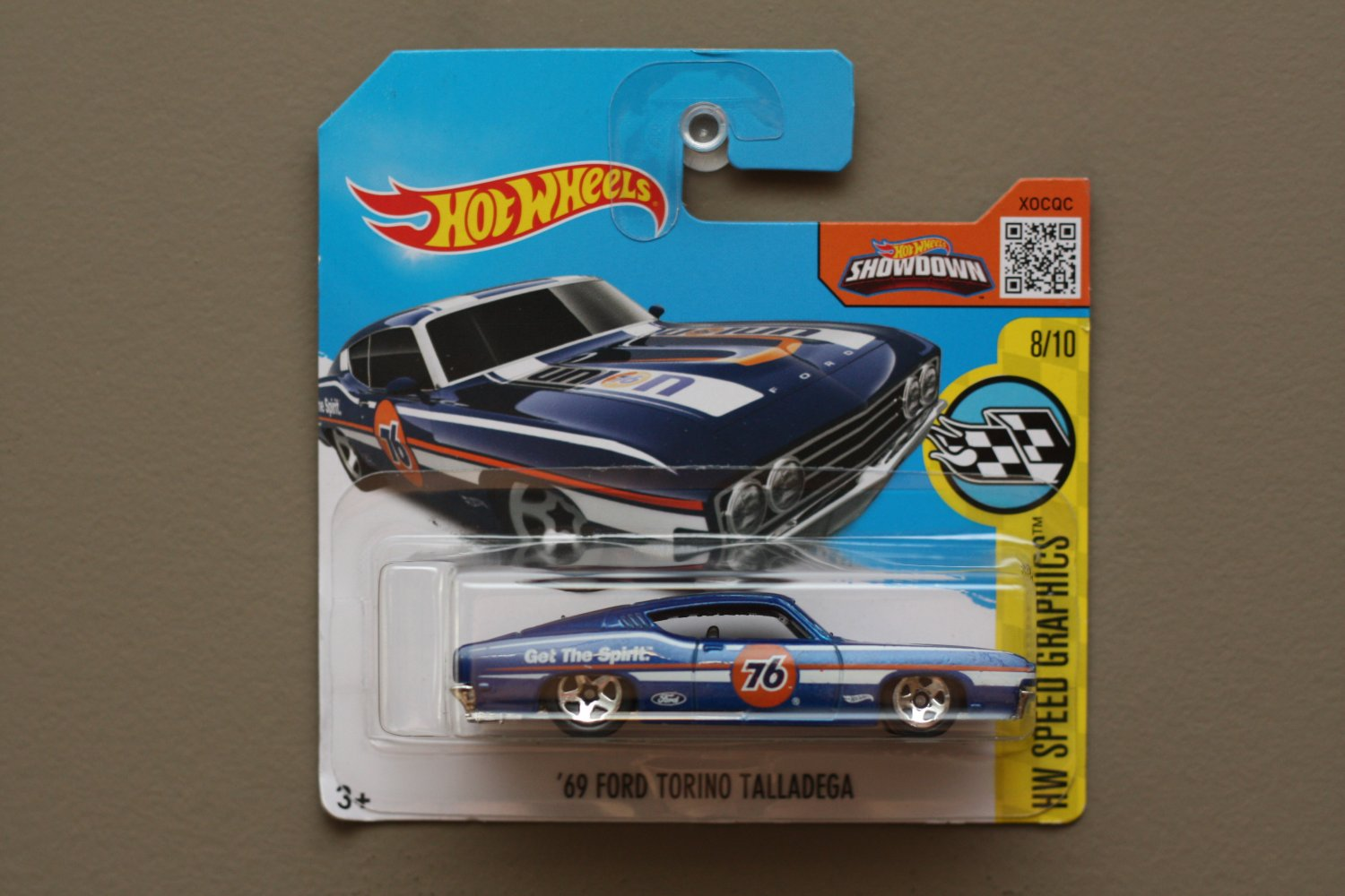 Hot wheels 2016 hw speed graphics 39 69 ford torino for 9 salon hot wheels mexico