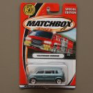 Matchbox 2002 Hero City Volkswagen VW Microbus (pearlescent blue) (SPECIAL EDITION CHASE)