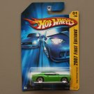 Hot Wheels 2007 First Editions Dodge Challenger Concept (green)