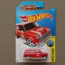Hot Wheels 2016 HW City Works '67 Austin Mini Van (red)