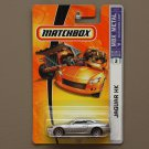 Matchbox 2006 MBX Metal Jaguar XK (silver)