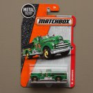 Matchbox 2016 MBX Heroic Rescue Seagrave Fire Engine (green)