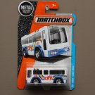 Matchbox 2016 MBX Adventure City MBX C.B.T. 801 City Bus (white)
