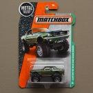 Matchbox 2016 MBX Explorers Custom '68 Ford Mustang Mudstanger (green)