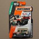 Matchbox 2015 MBX Explorers Land Rover Defender 110 (tan)