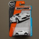 Matchbox 2016 MBX Adventure City Alfa Romeo 4C (white)