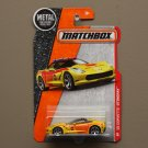 Matchbox 2016 MBX Heroic Rescue '15 Corvette Stingray (yellow)