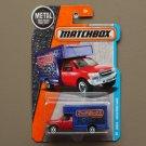 Matchbox 2016 MBX Adventure City MBX Moving Van (red/blue)