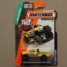Matchbox 2015 MBX Explorers Chevy Silverado K1500 (yellow)