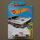 Hot Wheels 2016 HW Speed Graphics '69 Ford Torino Talladega (white)