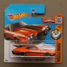 Hot Wheels 2016 Muscle Mania '72 Ford Gran Torino Sport (orange)