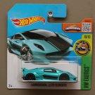 Hot Wheels 2016 HW Exotics Lamborghini Sesto Elemento (teal)