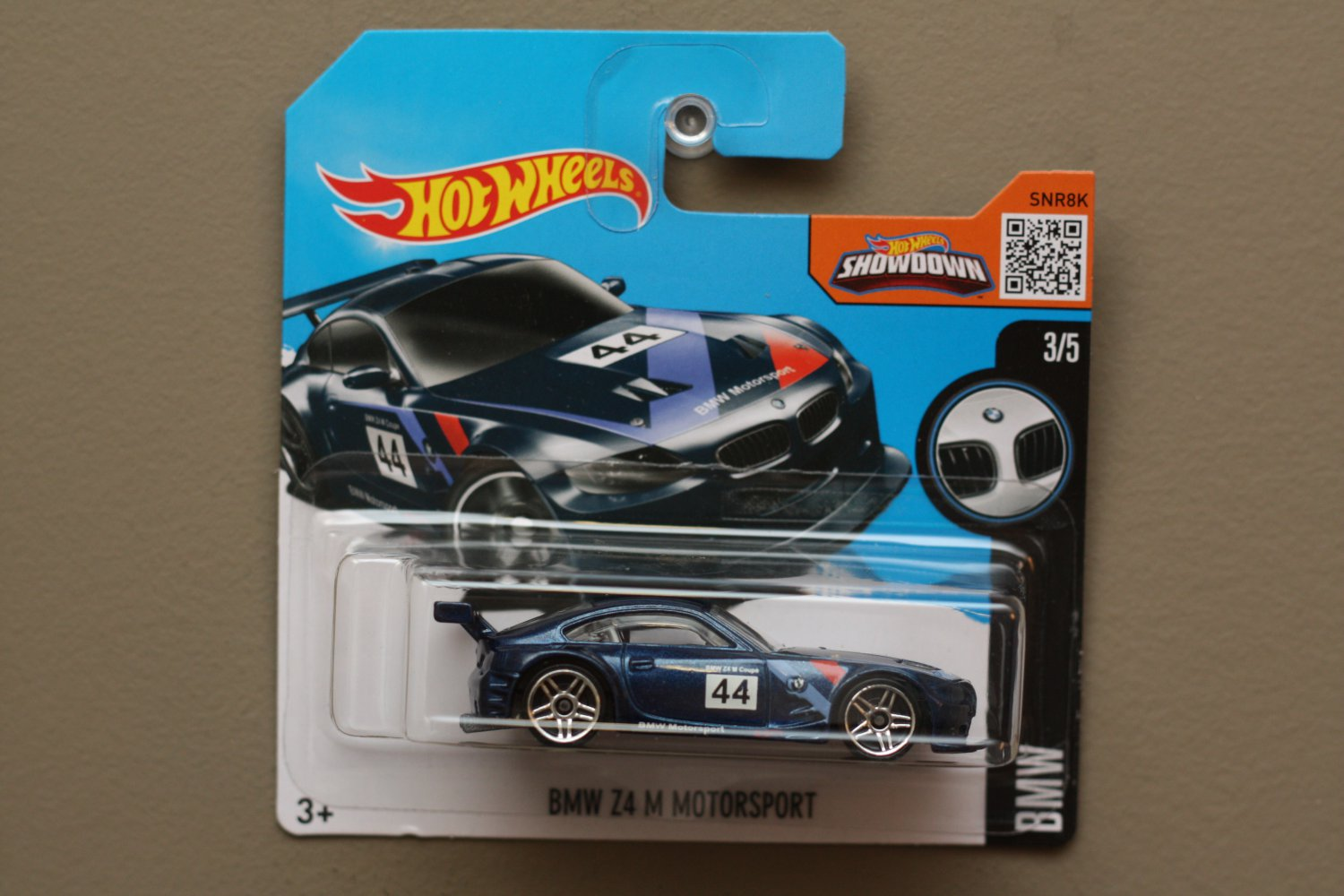 Hot Wheels 2016 Bmw Bmw Z4 M Motorsport Blue