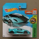 Hot Wheels 2016 HW Exotics Lamborghini Sesto Elemento (teal) (SEE CONDITION)