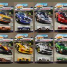 Hot Wheels 2016 Ford Performance (COMPLETE SET OF 8 Mustangs)