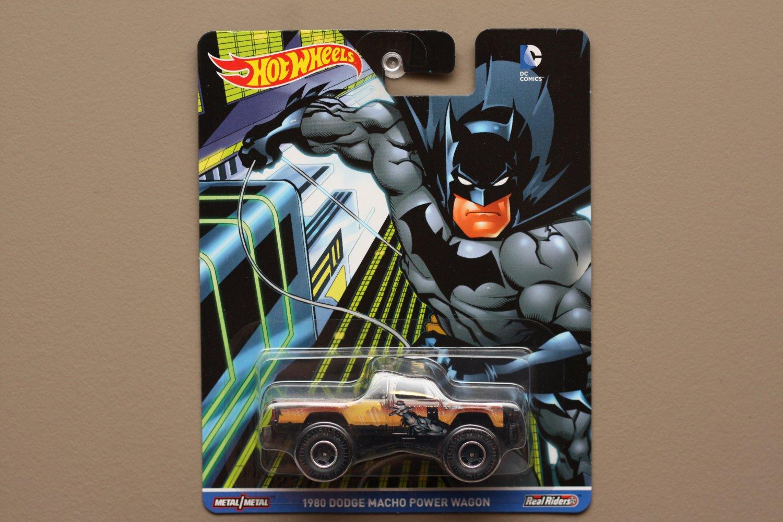 Hot Wheels 2016 Pop Culture DC Comics '80 Dodge Macho Power Wagon (Batman)