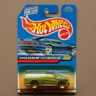 Hot Wheels 1999 Collector Series Dodge RAM 1500 (green) (SEE CONDITION)