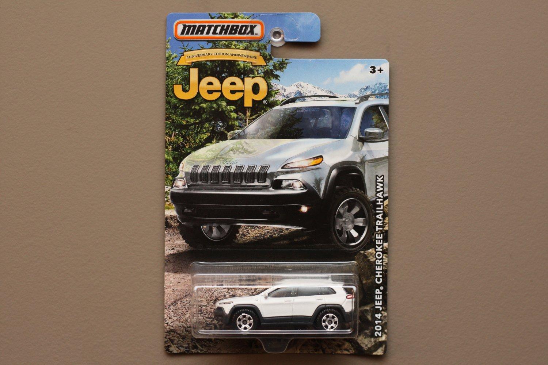 Matchbox 2016 Jeep Anniversary Edition '14 Jeep Cherokee Trailhawk