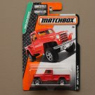 Matchbox 2015 MBX Explorers Jeep Willys 4x4 (red)