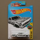 Hot Wheels 2016 HW Art Cars '65 Chevy Impala (white)