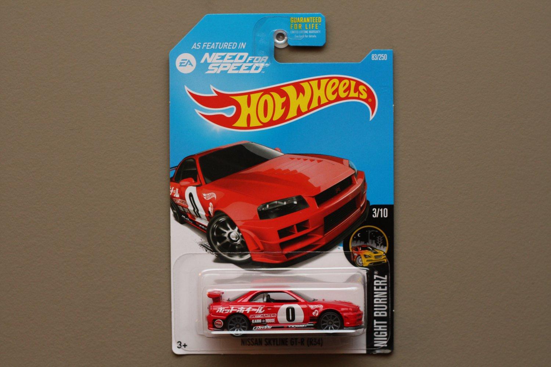 [ASSEMBLY ERROR] Hot Wheels 2016 Nightburnerz Nissan Skyline GT-R (R34) (red) (Need For Speed)