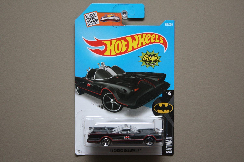 Hot Wheels 2016 Batman Classic TV Series Batmobile (black)