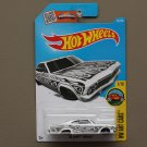 Hot Wheels 2016 HW Art Cars '65 Chevy Impala (white)