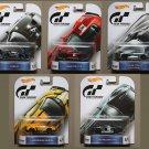 Hot Wheels 2016 Retro Ent. Gran Turismo (COMPLETE SET OF 5) (Lamborghini, Nissan, Corvette, Ford GT)