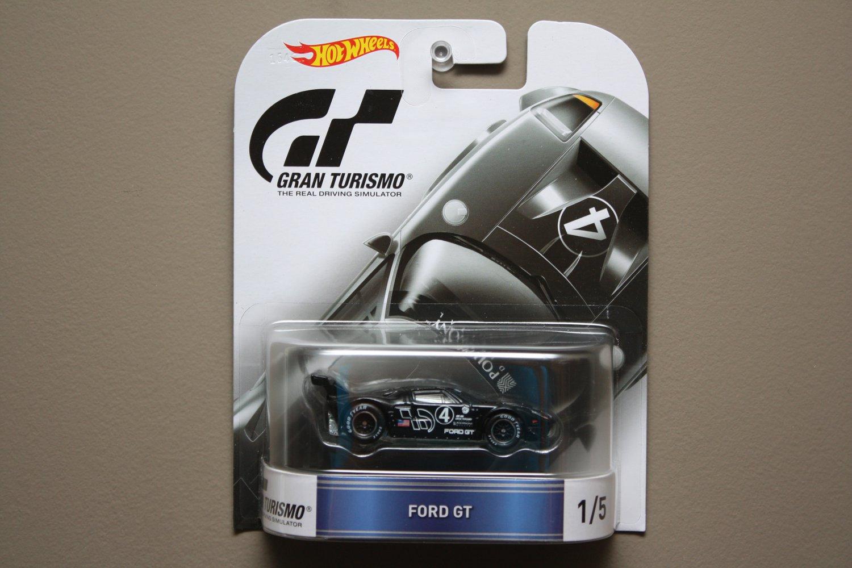 Hot Wheels 2016 Retro Entertainment Gran Turismo Ford GT (#1 of 5)