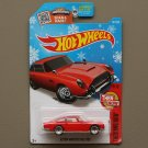 Hot Wheels 2016 Then And Now '63 Aston Martin DB5 (red) (Snowflake)