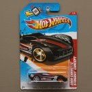 Hot Wheels 2012 Thrill Racers City Stunt 2009 Corvette Stingray Concept (black) (SEE CONDITION)