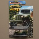 Matchbox 2016 Jeep Anniversary Edition '43 Jeep Willys