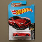 Hot Wheels 2016 Nightburnerz Ford Shelby GT 350R (red) (SEE CONDITION)